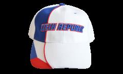 Cap / Kappe Tschechische Republik, weiß-blau, flag