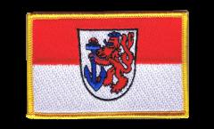 Aufnäher Deutschland Stadt Düsseldorf - 8 x 6 cm