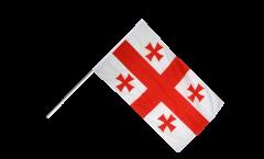 Stockflagge Georgien - 60 x 90 cm