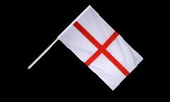 Stockflagge England St. George - 60 x 90 cm