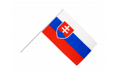 Stockflagge Slowakei - 60 x 90 cm