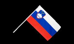 Stockflagge Slowenien - 60 x 90 cm