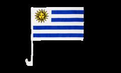 Autofahne Uruguay - 30 x 40 cm
