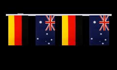 Freundschaftskette Deutschland - Australien - 15 x 22 cm