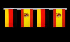 Freundschaftskette Deutschland - Spanien - 15 x 22 cm