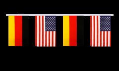 Freundschaftskette Deutschland - USA - 15 x 22 cm