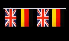 Freundschaftskette Großbritannien - Deutschland - 15 x 22 cm