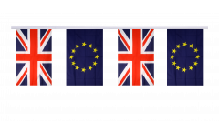 Freundschaftskette Großbritannien - Europäische Union EU - 15 x 22 cm