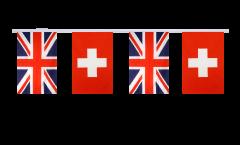 Freundschaftskette Großbritannien - Schweiz - 15 x 22 cm