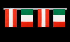 Freundschaftskette Österreich - Italien - 15 x 22 cm
