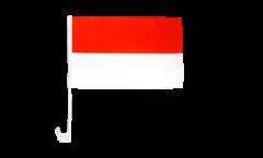 Autofahne Indonesien - 30 x 40 cm