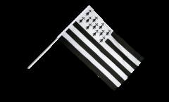 Stockflagge Frankreich Bretagne - 60 x 90 cm