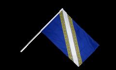 Stockflagge Frankreich Champagne-Ardenne - 60 x 90 cm