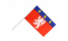 Stockflagge Frankreich Lyonnais - 60 x 90 cm