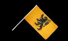 Stockflagge Frankreich Nord Pas de Calais - 60 x 90 cm