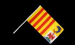 Stockflagge Frankreich Provence Alpes Côte d'Azur - 60 x 90 cm