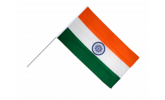 Stockflagge Indien - 60 x 90 cm
