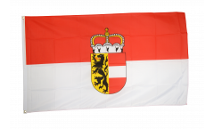 Flagge Österreich Salzburg - 90 x 150 cm