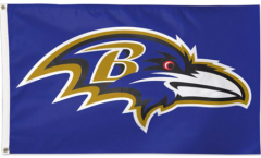 Flagge NFL Baltimore Ravens - 90 x 150 cm