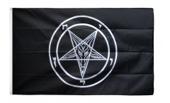 Flagge Baphomet Church of Satan - 90 x 150 cm