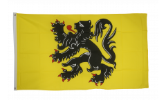 Flagge Belgien Flandern