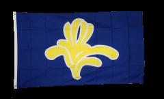 Flagge Belgien Hauptstadtregion Brüssel