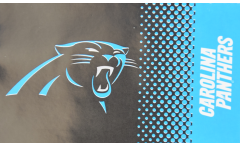 Flagge NFL Carolina Panthers Fan - 90 x 150 cm