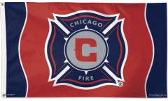 Flagge MLS Chicago Fire - 90 x 150 cm