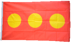 Flagge Dänemark Freistadt Christiania
