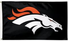 Flagge NFL Denver Broncos Black - 90 x 150 cm