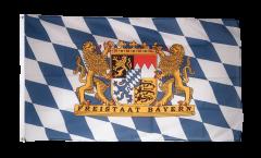 Flagge Deutschland Bayern Freistaat
