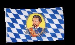 Flagge Deutschland Bayern König Ludwig
