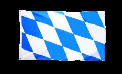 Flagge Deutschland Bayern ohne Wappen