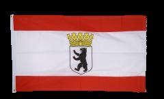 Flagge Deutschland Berlin mit Krone