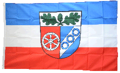Flagge Deutschland Landkreis Aschaffenburg