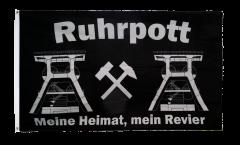 Flagge Deutschland Ruhrpott Meine Heimat mein Revier