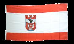 Flagge Deutschland Stadt Berlin Spandau