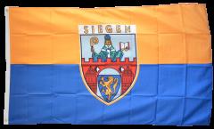 Flagge Deutschland Stadt Siegen