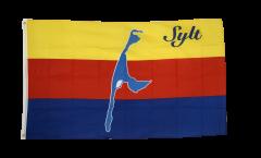 Flagge Deutschland Stadt Sylt