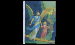 Flagge Engel mit Mädchen