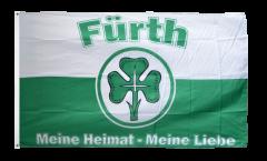 Flagge Fanflagge Fürth - Meine Heimat meine Liebe