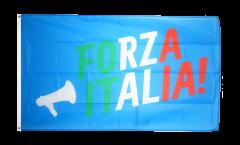 Flagge Fanflagge Italien Forza Italia - 90 x 150 cm