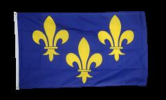 Flagge Frankreich Ile de France