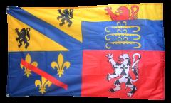 Flagge Frankreich Ain