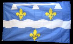 Flagge Frankreich Loiret