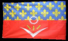Flagge Frankreich Seine-Saint-Denis
