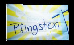 Flagge Frohe Pfingsten - 90 x 150 cm