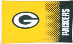 Flagge NFL Green Bay Packers Fan - 90 x 150 cm