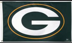 Flagge NFL Green Bay Packers Logo - 90 x 150 cm