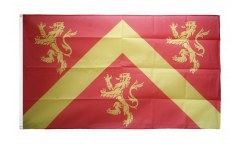 Flagge Großbritannien Anglesey